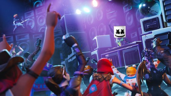 fortnite marshmello collaboration