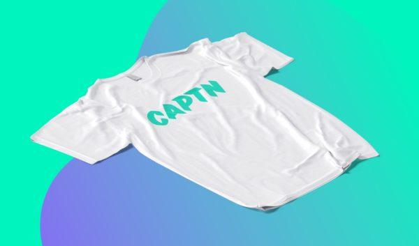 captn logo tshirt