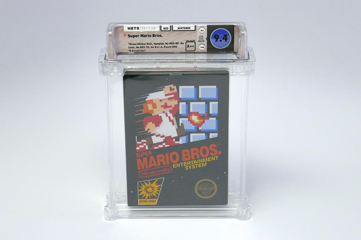 Super Mario Bros 114000 US Dollar