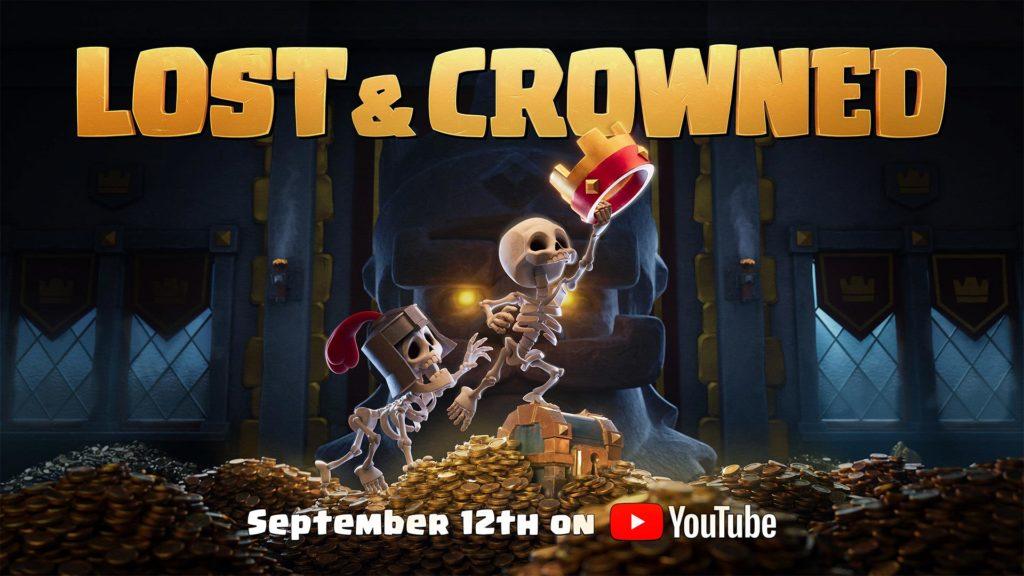 lost & crowned kurzfilm von supercell mit clash royale und clash of clans