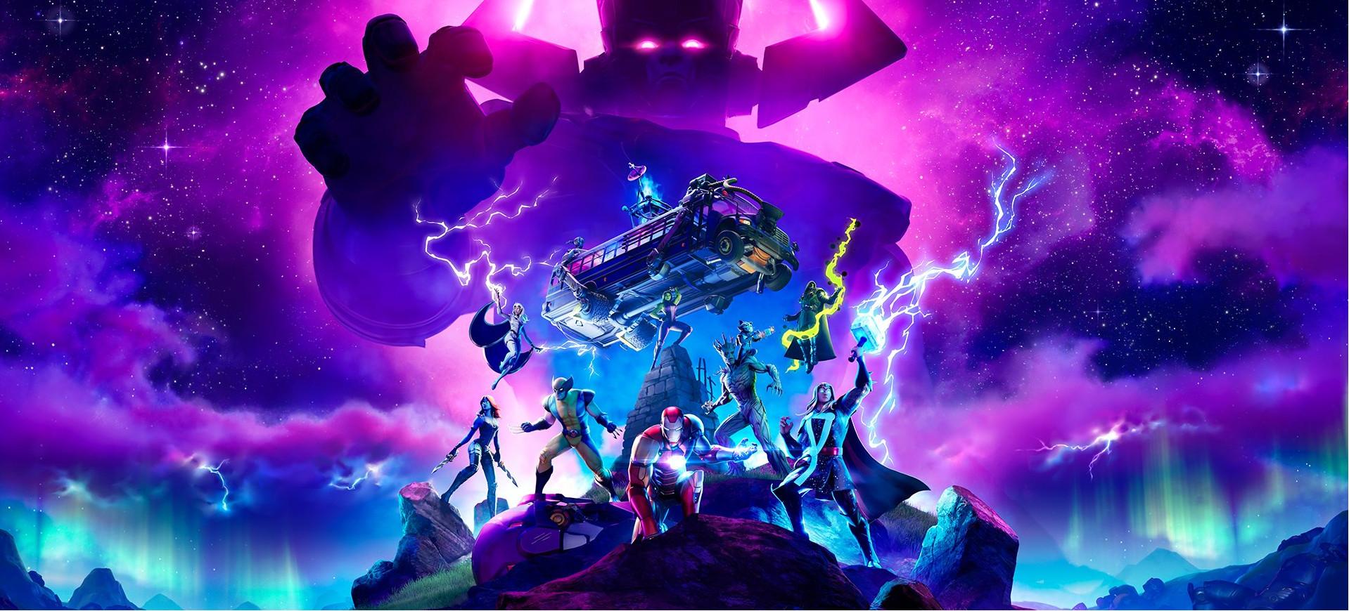 Fortnite Galactus Marvel Event