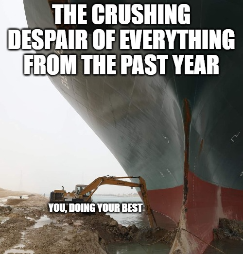 Ever Given im Suezkanal
