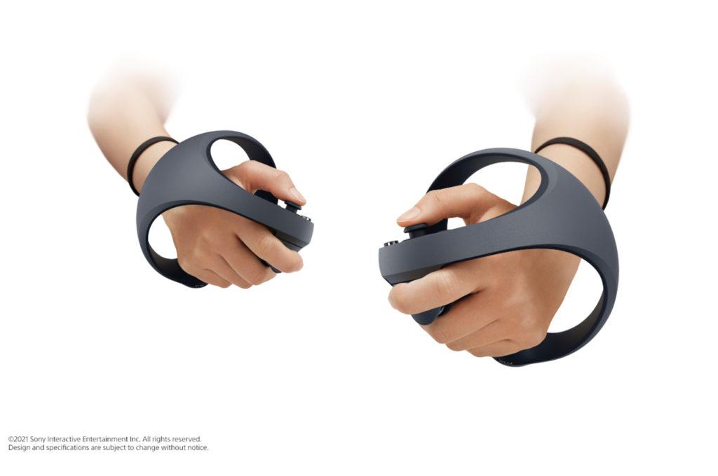 So sehen die neuen VR Controller aus!